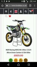 2x m2r racing kMx140 4stroke big wheel r