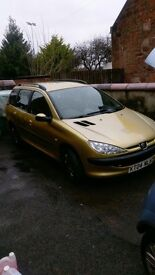 Well maintained Peugot 206 quick sale