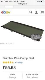 Kampa slumber plus camp bed