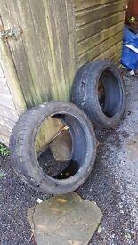 2 x yokohama w drive (winter) tyres