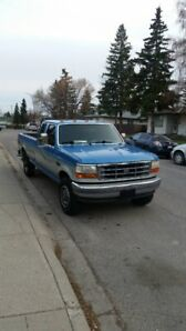 93 f250 7.5L, 4x4, low km for year. Runs strong! Ready to tow