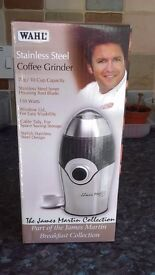 Coffee Grinder - Wahl / James Martin - BRAND NEW, still boxed, never used.