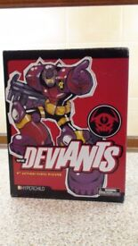 Deviants Comic Book Vinyl Action Figures