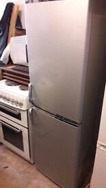 **SERVIS**SILVER**FRIDGE FREEZER**ONLY £110**BARGAIN**MORE AVAILABLE**COLLECTION\DELIVERY**NO OFFERS