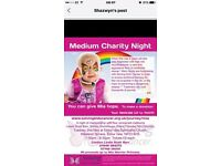 Night of mediumship charity event