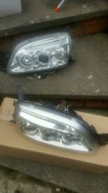 Ford fiesta mk5 angel headlights