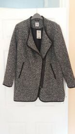 New Ladies Coat Size 12.