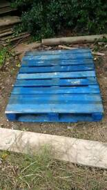 One large pallet