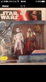 Brand new unopened Star Wars figures