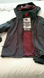 Superdry ladies coat X-Large
