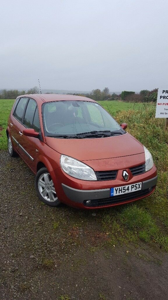 Renault Megane Scenic. Low Mileage 38770 , and new MOT