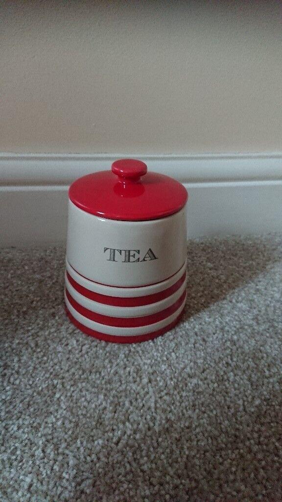 bnib tea coffee and sugar pot set from next