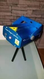Laser machine light