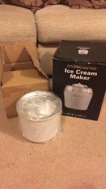 Andrew James ice cream maker plus spare bowl