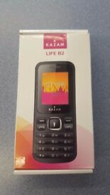 KAZAM LIFE B2 MOBILE PHONE WITH RECEIPT