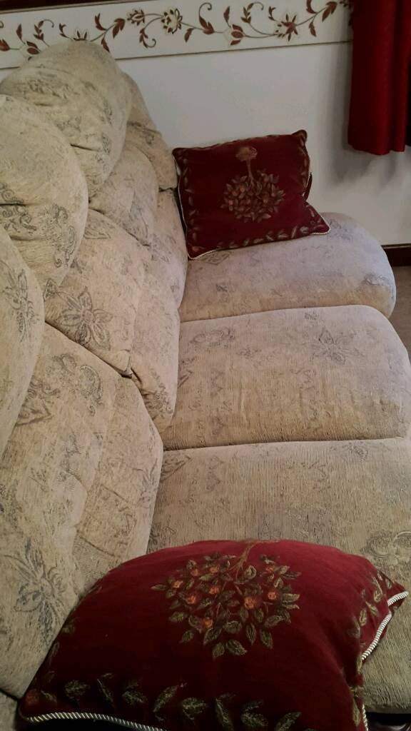 3 seater sofa, Recliner Armchair And Armchair
