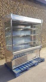 Arneg open chiller stainless steel commercial