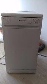 hotpoint SDL510 SLIMLINE Dishwasher.