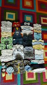 3-6 months baby boy clothes 38x items