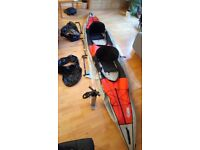 Gumotex Swing 2 Inflatable Double closed deck kayak