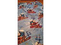 Thomas the tank curtains and rug