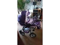 Travel system used twice including car seat