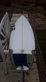 Surfboard - RT Supercharged (Laminations) Custom 6.1 × 19 5/16 × 21/2