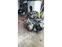 complete engine with carbs honda cbr 600f 2001