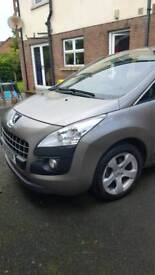 PRICE REDUCED! 2012 Peugeot 3008, automatic diesel.