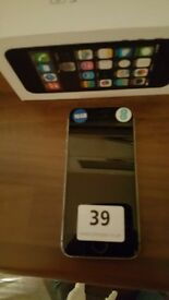 Brand new Iphone5s 16GB silver colour