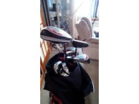 Golf clubd and electric trolley for sale
