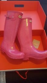 Genuine hunter wellies
