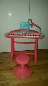 ELC Battery Operated Girls Pink Piano