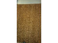Living room rug. NEW, unwanted gift, 230cm by 150 cm brown/orange mix