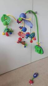 Musical cot mobile (Tiny Love deluxe symphony in motion)