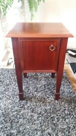 Solid Oak Small Side Table