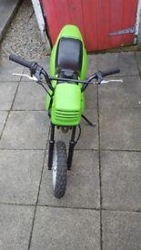 Pit bike 49cc