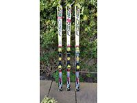 3 pair of Fischer RC4 Junior GS Race skis
