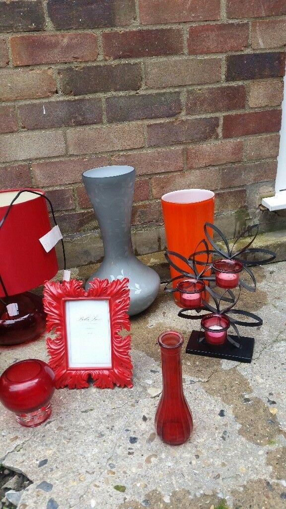 Beautiful vases and lamps etc.