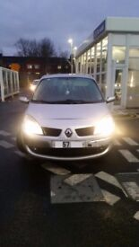 RENAULT SCENIC FOR SALE OR SWAPS
