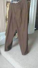 Mens canali trousers