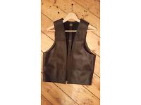 Leather Man Square Vest, black, Size M, great condition