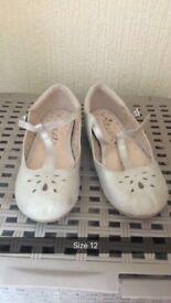 Girls shoes mixed size 11.5-12 Skechers, next, adidas