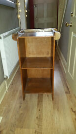 1930/40's Cupboard with side towel rails