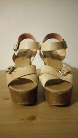 Ladies Wooden Heels