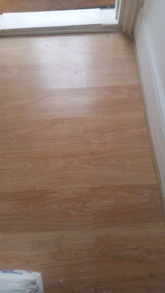 Used Laminate Flooring 35m2 Pick Up Only In Croydon London Gumtree