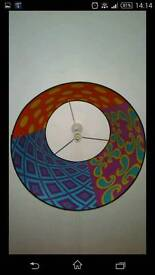 Large funky light shade