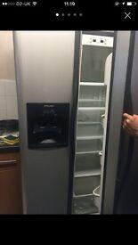 FRIDGE FREEZER-middle of freezer working only needs new motor