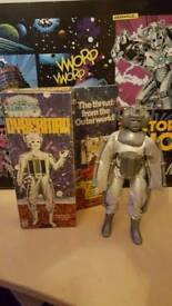 Dr who vintage denys Fisher Cyberman,v.rare/collectable,boxed.costume option