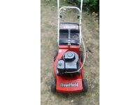 Mountfield emblem petrol lawnmower